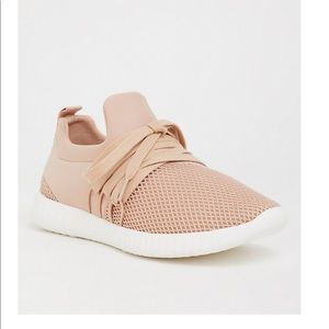 Blush Nylon Mesh Sneaker WW